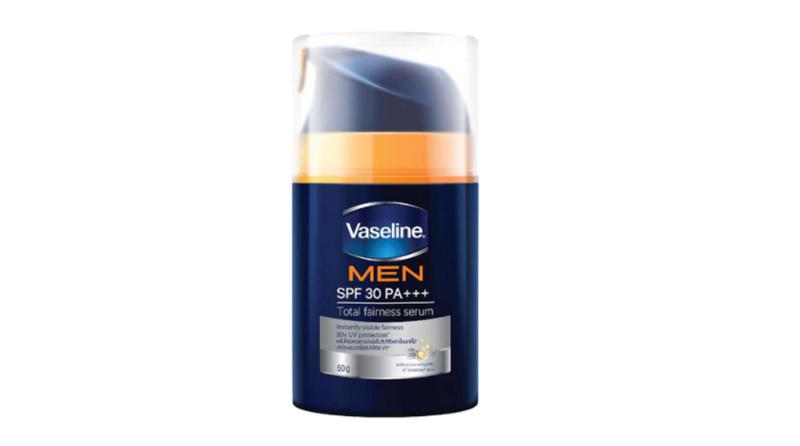 ครีมกันแดดผู้ชาย Vaseline Men Total Fairness Serum SPF 30 PA+++