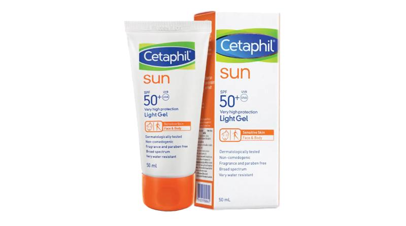 ครีมกันแดดผู้ชาย Cetaphil Sun SPF 50+ PA++++ Light GEL