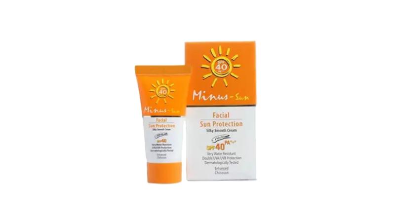 ครีมกันแดดผู้ชาย Minus Facial Sun Protection SPF40 PA++