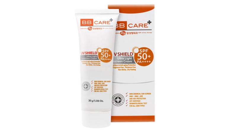 ครีมกันแดดผู้ชาย BB Care UV Shield SPF 50 PA+++
