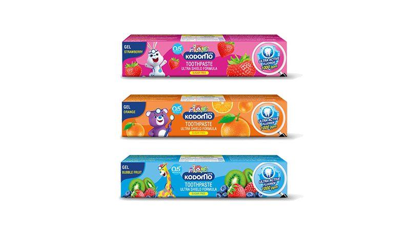 ยาสีฟันเด็ก Kodomo Ultra Shield