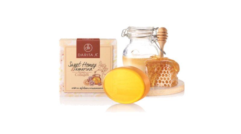 สบู่ Darita K.Sweet Honey & Tamarind Soap with Collagen