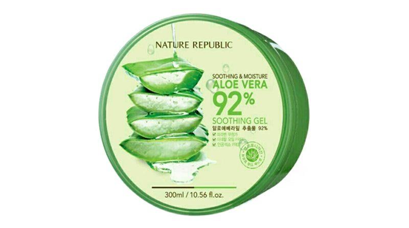 เจลว่านหางจระเข้ Nature Republic Soothing & Moisture Aloe Vera 92% Soothing Gel