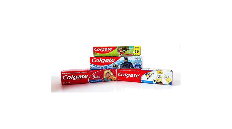 ยาสีฟันเด็ก คอลเกต รสบับเบิ้ลฟรุต
