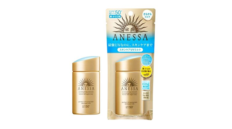 ครีมกันแดด ANESSA Perfect UV Sunscreen Skincare Milk SPF 50+ PA++++