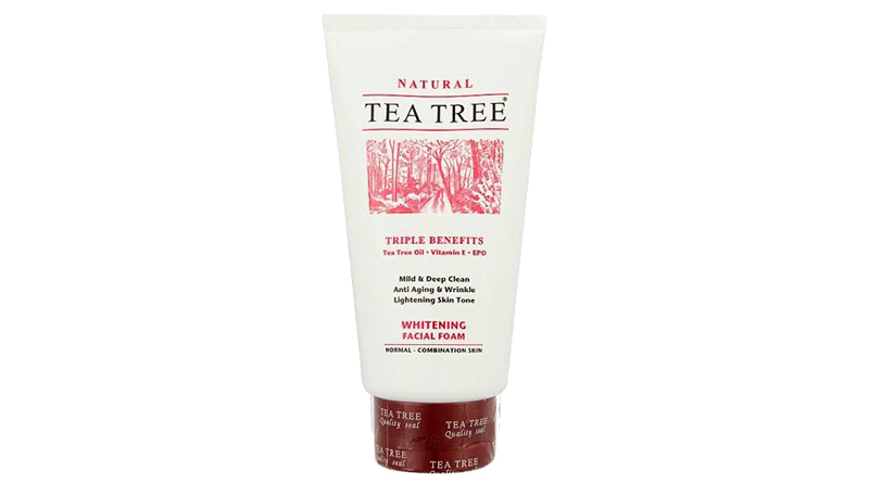 Tea Tree Whitening Facial Foam