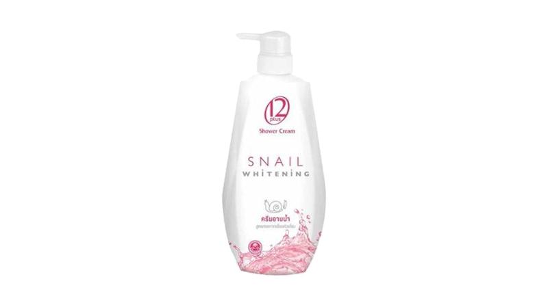 สบู่ 12 Plus Snail Whitening Shower Cream