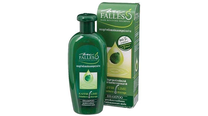 ยาสระผมแก้ผมร่วง BSC Falless แชมพูสูตรผมแข็งแรงสุขภาพดี ช่วยลดผมร่วง