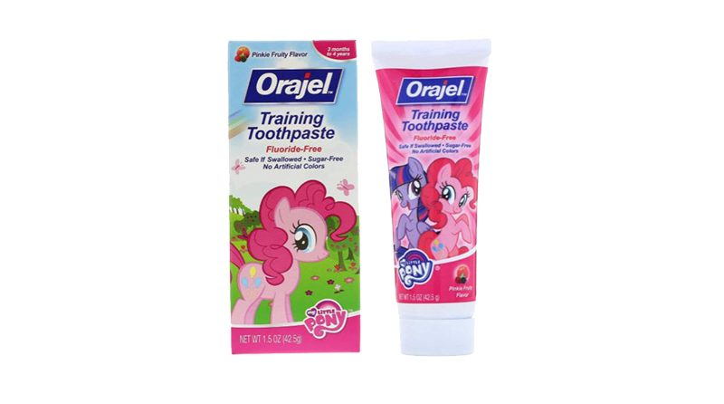 ยาสีฟันเด็ก Orajel My Little Pony™ Fluoride-Free Training Toothpaste