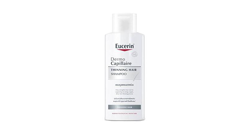 ยาสระผมแก้ผมร่วง Eucerin Dermo Capillaire Thinning Hair Shampoo