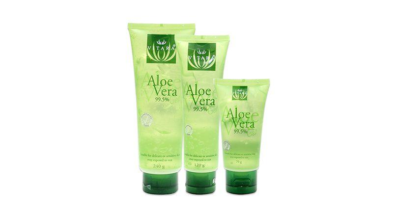 เจลว่านหางจระเข้  Vitara Aloe Vera Gel 99.5%