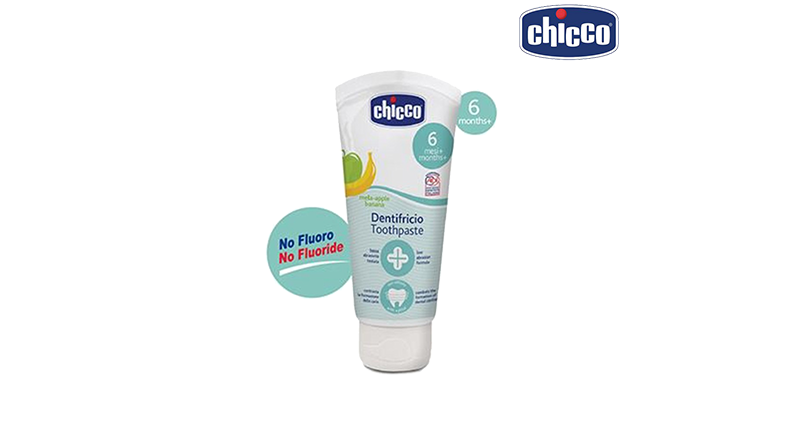 ยาสีฟันเด็ก Chicco Oral Care Apple & Banana Toothpaste