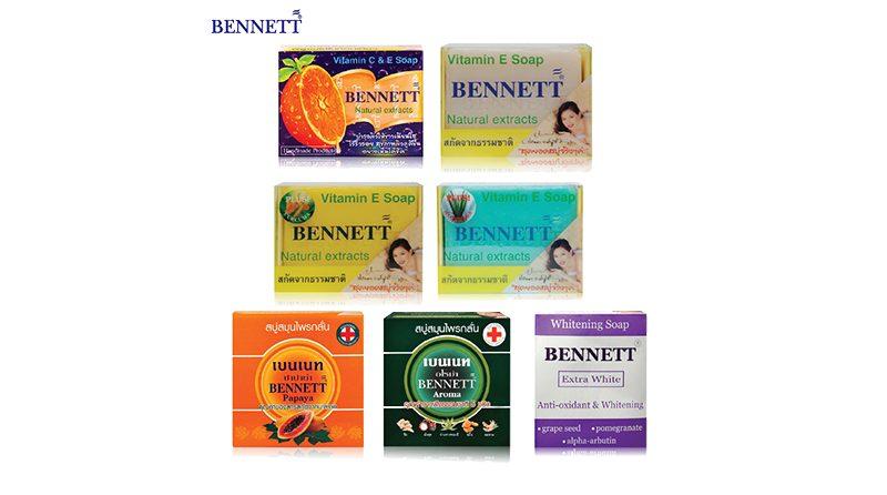 สบู่ Bennett Vitamin C & E Soap