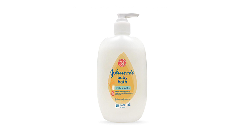 ครีมอาบน้ำเด็ก Johnson's Baby Bath Milk + Oats