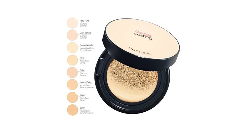ETUDE Double Lasting Cushion SPF34 PA++