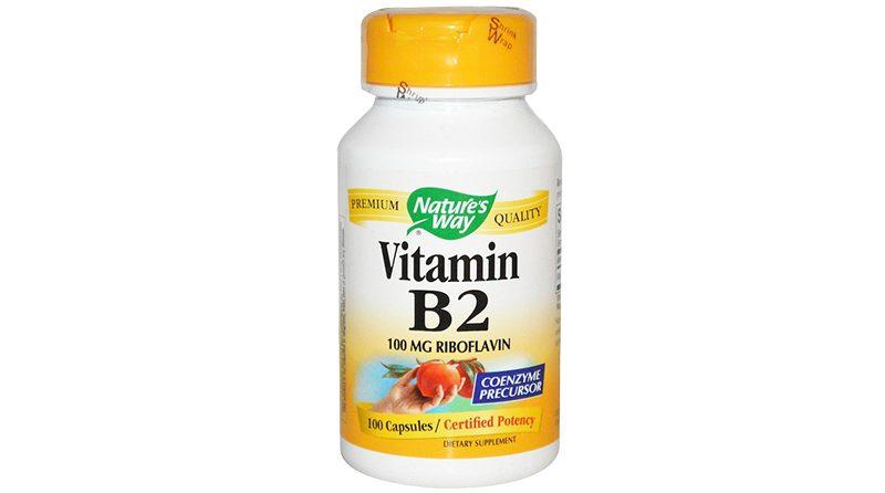 Nature's Way Vitamin B2 (Riboflavin)