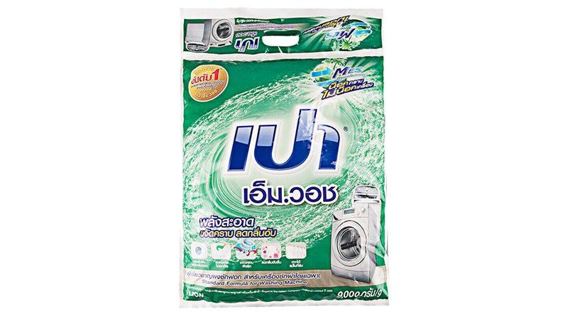 PAO เอ็ม วอช ผงซักฟอกสูตรมาตรฐาน สำหรับเครื่องซักผ้า