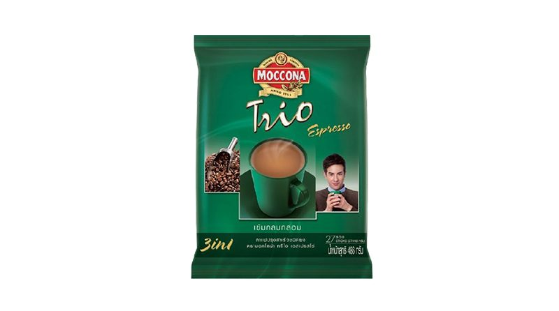 Moccona Trio กาแฟปรุงสำเร็จ ชนิดผง รส Espresso