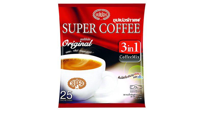 Super Coffee คอฟฟี่ มิกซ์