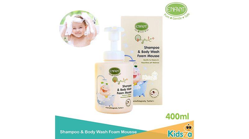ครีมอาบน้ำเด็ก Enfant Organic Shampoo & Body Wash