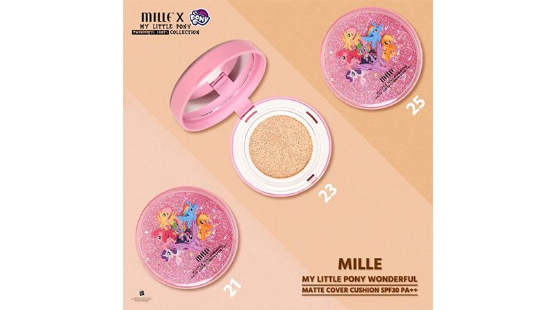 Mille My Little Pony Wonderful Matte Cover Cushion Spf 30 PA++