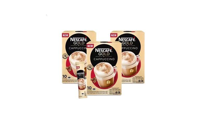 Nescafe Gold รสคาปูชิโน