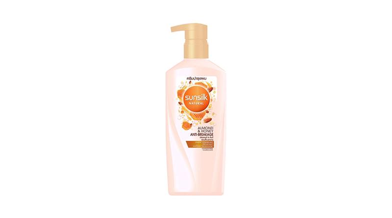 SUNSILK NATURAL Hair Conditioner Almond & Honey Anti-Breakage