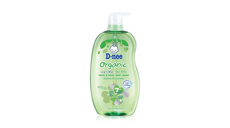 ครีมอาบน้ำเด็ก D-Nee Organic Head & Body Baby Wash