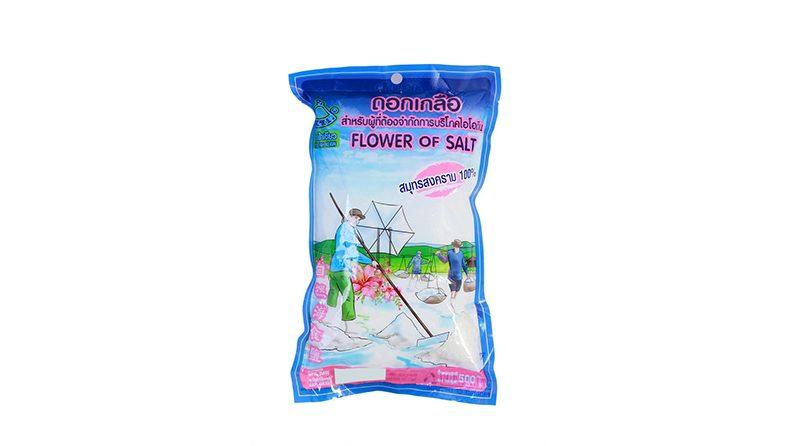 FLOWER OF SALT สำหรับผู้ที่ต้องจำกัดการบริโภคไอโอดีน