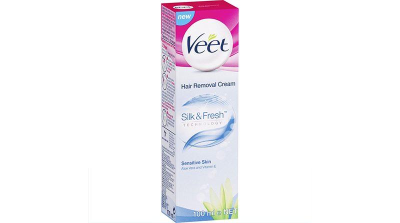 Veet Hair Removal Cream Silk & Fresh for Sensitive skin