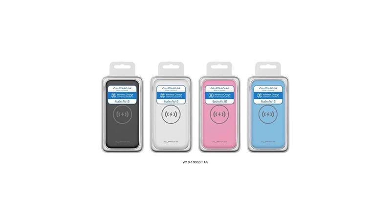 พาวเวอร์แบงค์ ALPHA Wireless Charger 10000 MAH