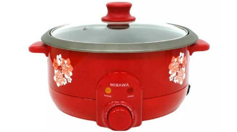 MISAWA หม้อสุกี้อเนกประสงค์ รุ่น KW-3806 (Red)