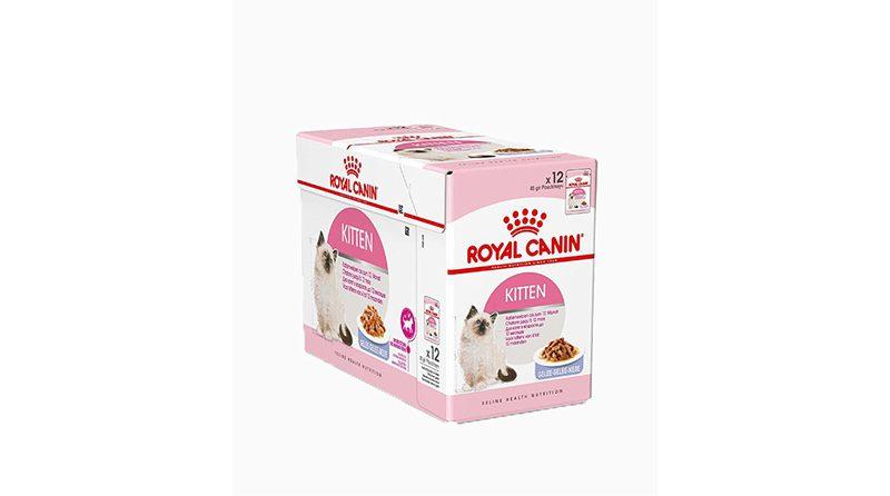 Royal Canin Kitten Instinctive in Gravy อาหารเปียกสูตรลูกแมว