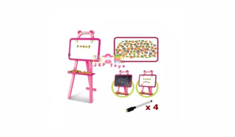 JKP Toys ของเล่นเสริมพัฒนาการ กระดาน 3 in 1