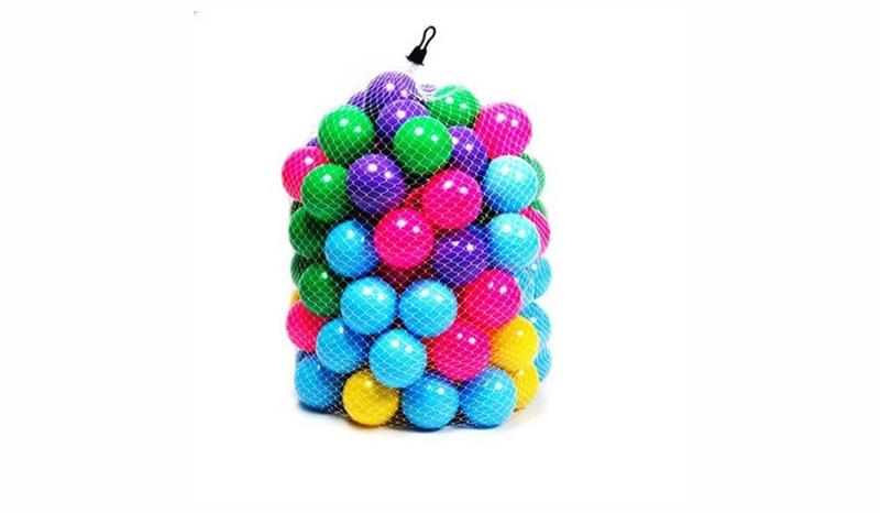 บอลพลาสติกหลากสี 100 ลูก