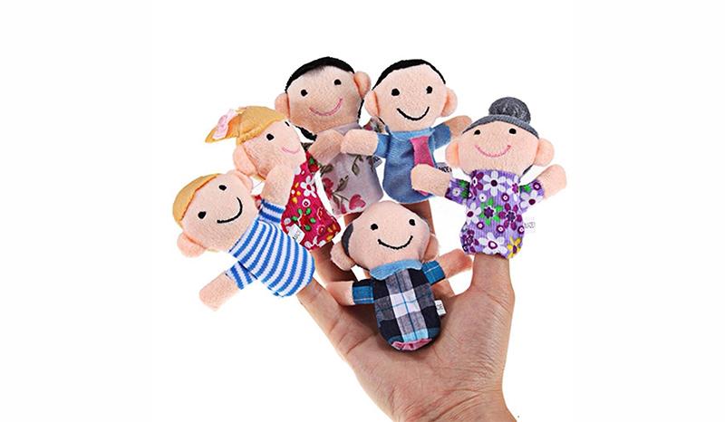 ตุ๊กตาหุ่นนิ้วมือ สำหรับการเล่านิทาน