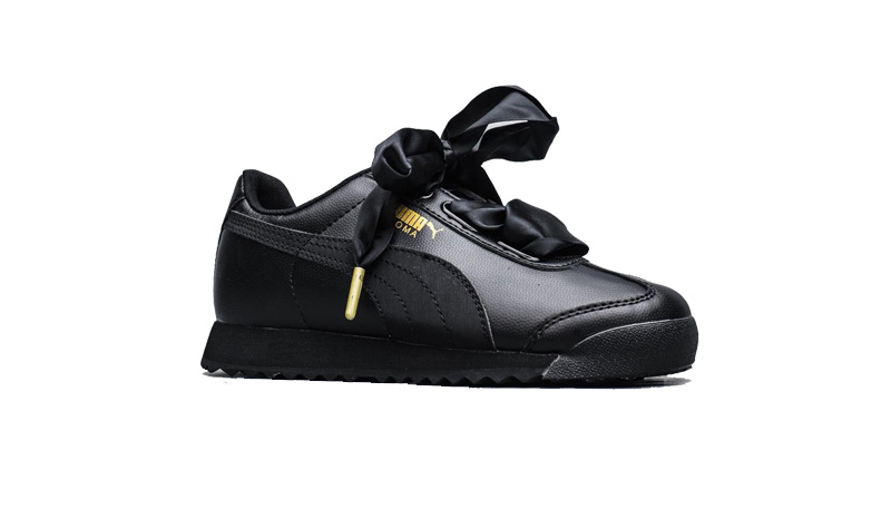 รองเท้าผ้าใบผู้หญิง Puma Roma Heart Metallic Wns