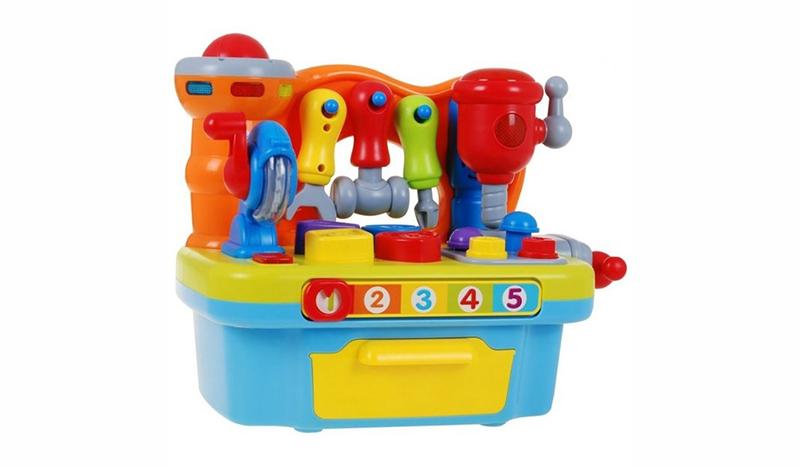 Huile Toys ชุดช่าง Little Artisan Game Workshop