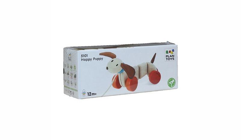PlanToys Happy Puppy ของเล่นไม้หมาน้อยชิวาว่า