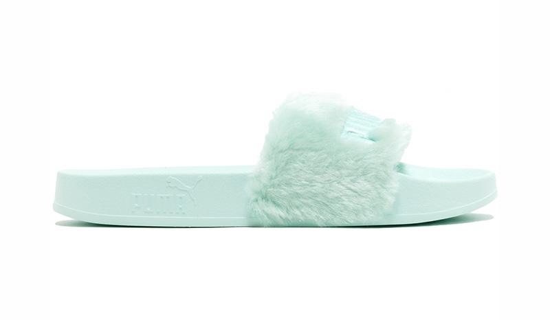 Puma Fenty Fur Slides By Rihanna