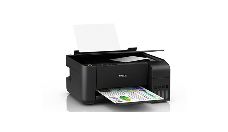 เครื่องปริ้นท์ EPSON EcoTank L3110 All-in-One Ink Tank Printer