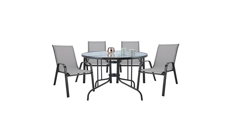 โต๊ะในสวน INDEX LIVING MALL โต๊ะสนาม รุ่น สแตมป้า