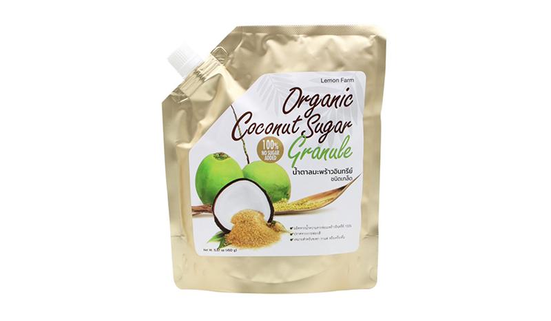 LEMON FARM น้ำตาลมะพร้าวอินทรีย์