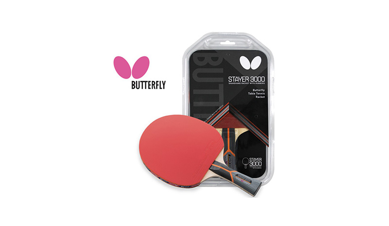ไม้ปิงปอง BUTTERFLY รุ่น Stayer 3000