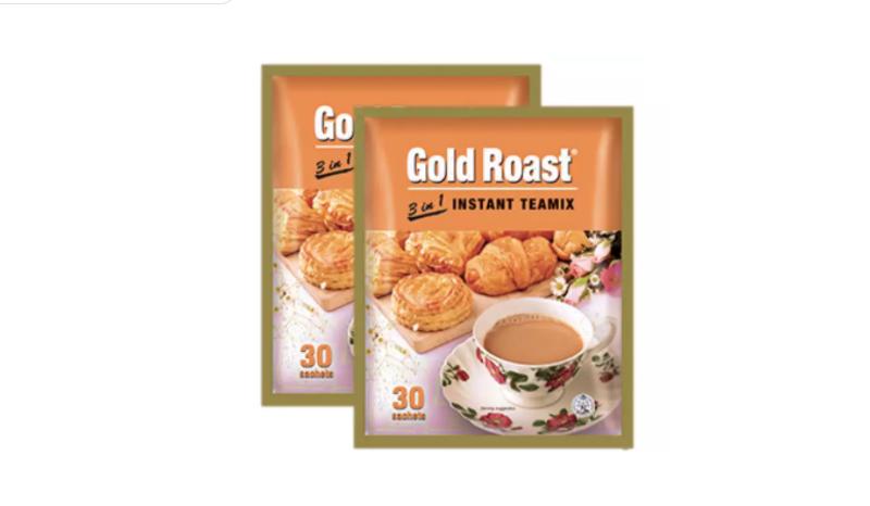 ชาเย็นปรุงสำเร็จ Gold Roast ชาปรุงสำเร็จชนิดผง 3 in 1