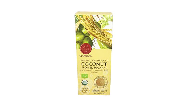 Chiwadi น้ำตาลมะพร้าวจากฟาร์มอินทรีย์