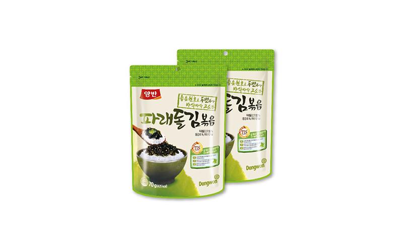 ยังบัน สาหร่ายเกาหลี ทไวชซีซั่นลาเวอร์ สาหร่ายโรยข้าว 2 รสชาติ