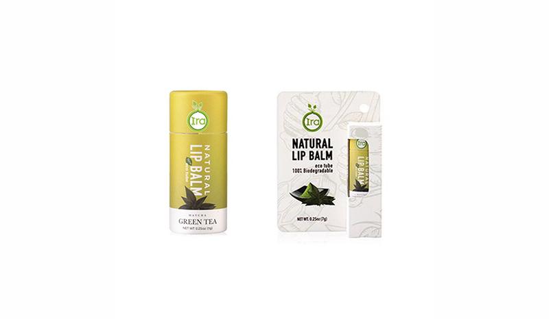 IRA Natural Lip Balm Eco Tube (Green tea)