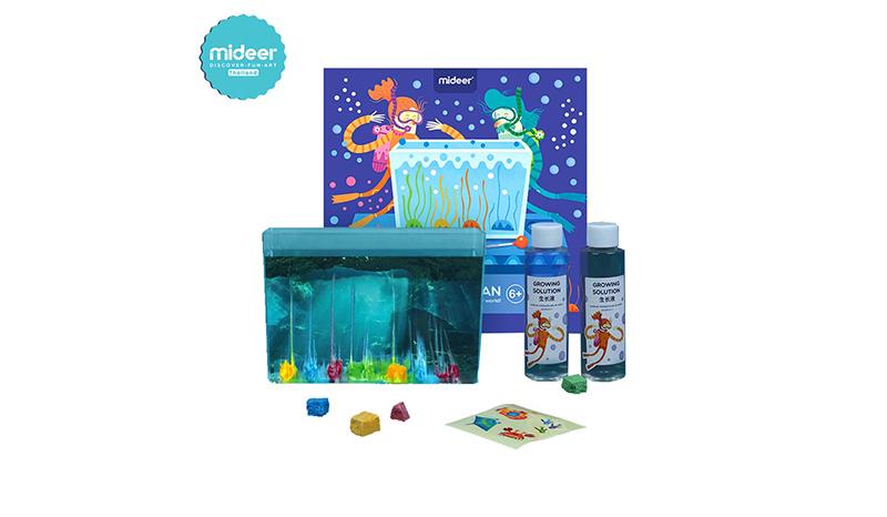 ของเล่นวิทยาศาสตร์ ชุดปะการัง Fantasy Ocean (Mideer)