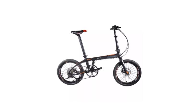 จักรยานพับได้ SAVA คาร์บอนไฟเบอร์ ดำ แดง